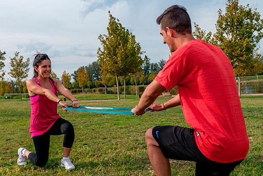 entrenar en pareja